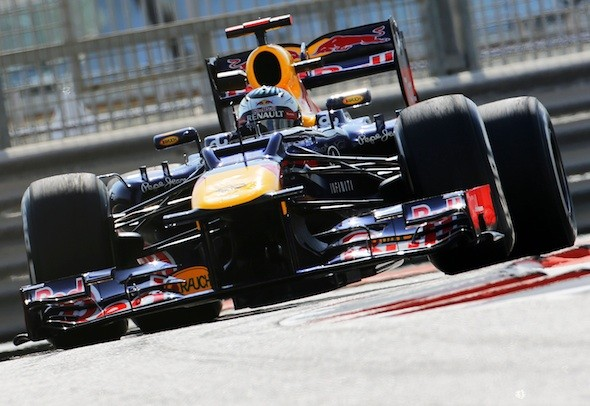 Vettel's Red Bull F1 car
