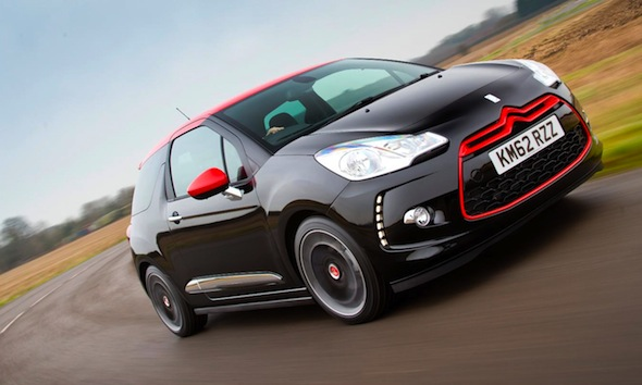 Citroen DS3 DSport Red