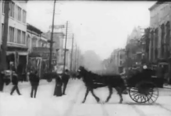 Video: 1907 footage proves that dashcams are nothing new