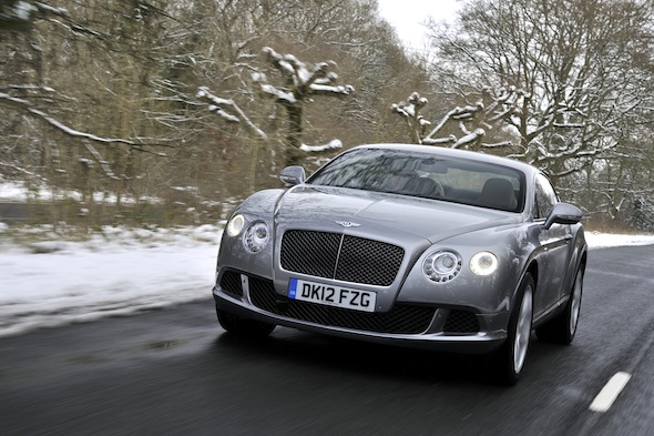New Bentley Continental GT Speed