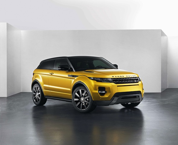 Range Rover Evoque Limited Edition Sicilian Yellow