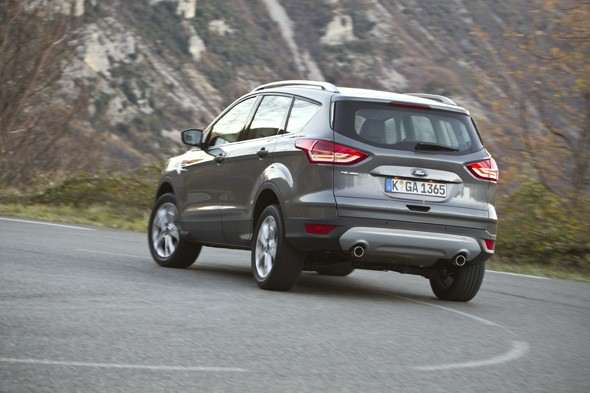 First drive review: Ford Kuga 