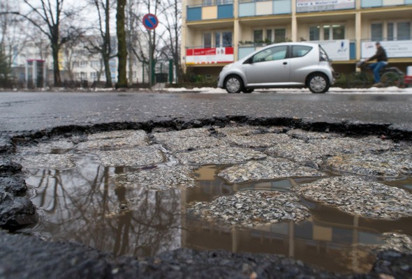 Honda creates special potholed road to mimic UK driving conditions