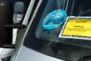 Motorist gets £200 litter fine in parking ticket protest