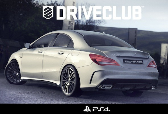 Mercedes CLA45 AMG unveiled in videogame screenshot