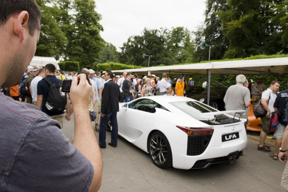 Celebrating the awesome Lexus LFA