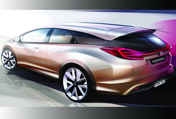 Honda unveil cool Civic Wagon concept