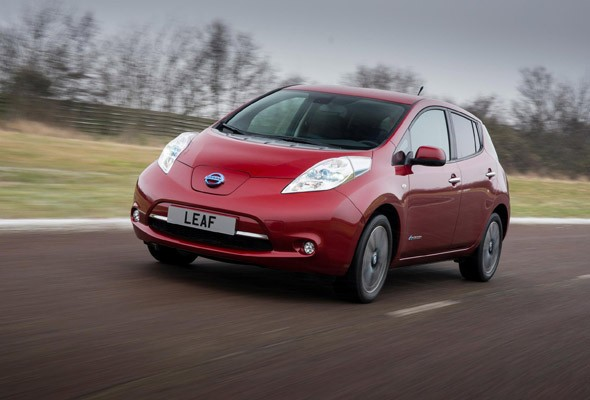 Nissan reveals new British-built Leaf