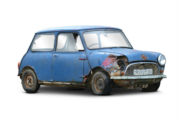 Barn-find Mini set to make 10k after 40 years of disrepair