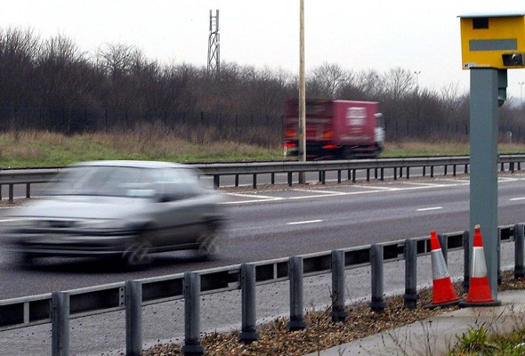 80mph motorway speed limit parked for now