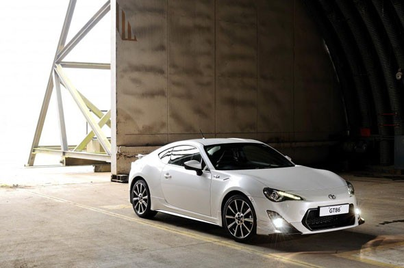Limited edition GT86 tuned by Toyota's motorsport division revealed