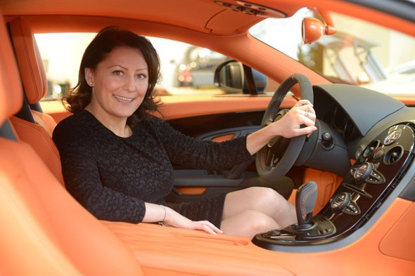 Super saleswoman notches up £13million worth of Bugatti Veyron sales
