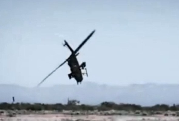 Top Gear helicopter crash caught on camera