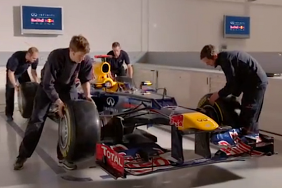 Video: How to build a Formula 1 car