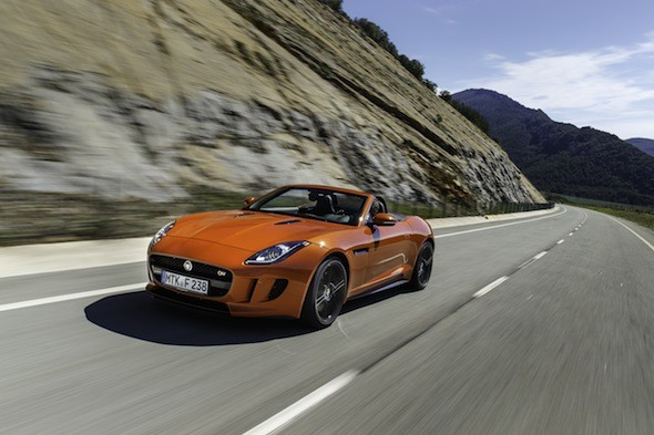New Jaguar F-Type gallery