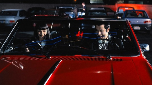 Pulp Fiction convertible found after twenty years