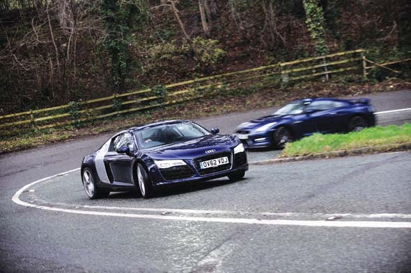 All-wheel-drive supercar showdown