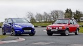 Historic hot hatch shootout: Fiesta XR2 vs. Fiesta ST