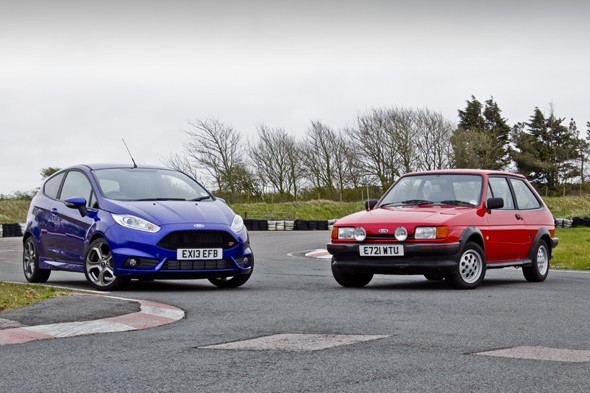 Ford Fiesta XR2 vs. Ford Fiesta ST2