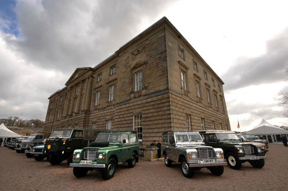 Land Rover's 65th Birthday