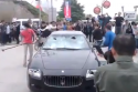 Video: Frustrated man smashes Maserati with sledgehammer