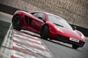 Burning rubber: McLaren MP4-12C goes up in flames