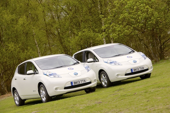 West Midlands Police adds 30 electric Nissan Leafs to fleet