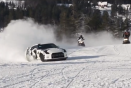 Video: Nissan GT-R tackles red ski run