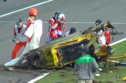 Video: Driver miraculously survives violent 200mph Ferrari 458 smash
