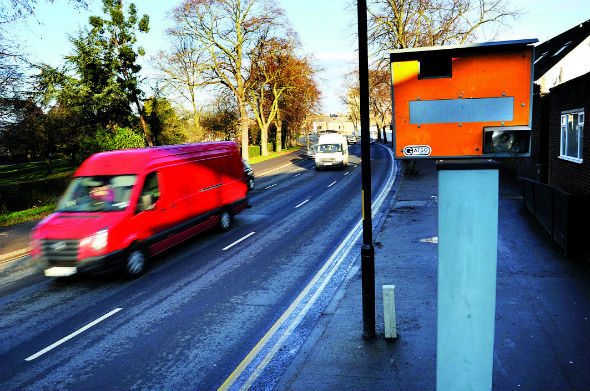 Britain's most lucrative speed camera has earned £1.6 million in eight years