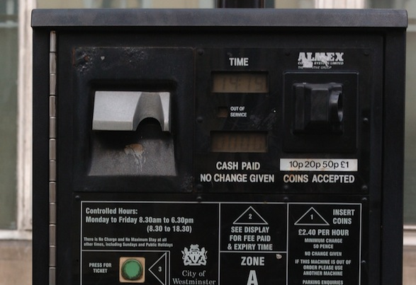 Bungling Bradford Council installs French car park ticket machine