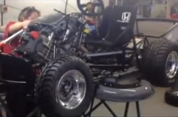 Video: The 110bhp lawnmower