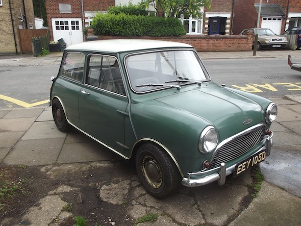 Garage-find Mini sells for £31,000