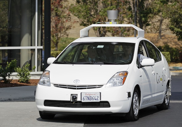 UK driverless cars trials to begin this year