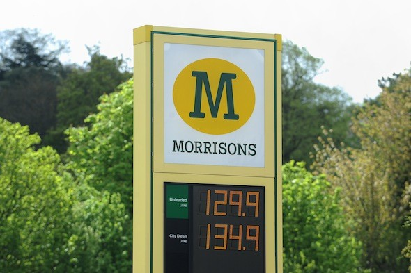 Water-contaminated petrol sees Morrisons shoppers break down