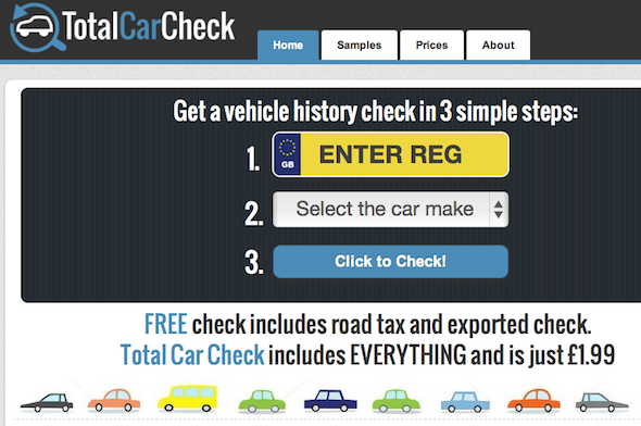 Investigation reveals car check site is dangerously flawed