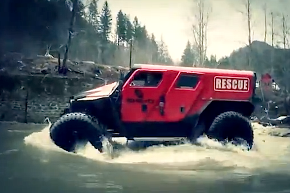 romanian offroad specialists reveal extreme rescue