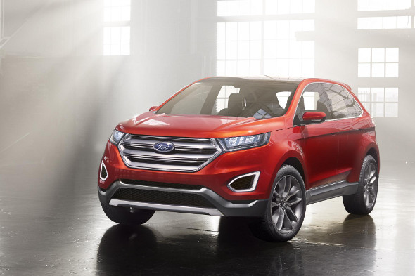 ford edge concept previews new full size 4x4 aol uk cars. Black Bedroom Furniture Sets. Home Design Ideas
