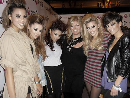 """We've got the Jedward quiff!"" laughed Rochelle. With Girls Aloud on a break"