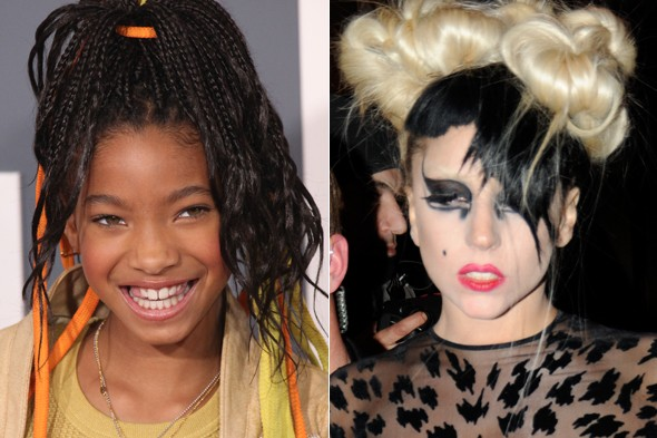 Willow Smith and Lady Gaga
