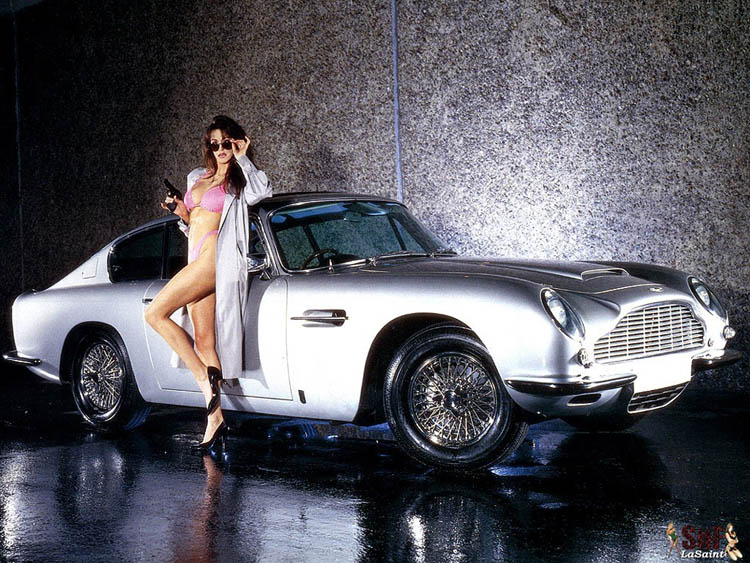 Sexy girl, Aston Martin, cars and girls
