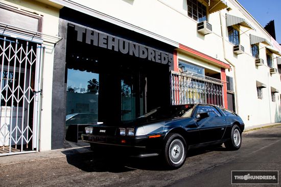 De Lorean DMC 12 von The Hundreds