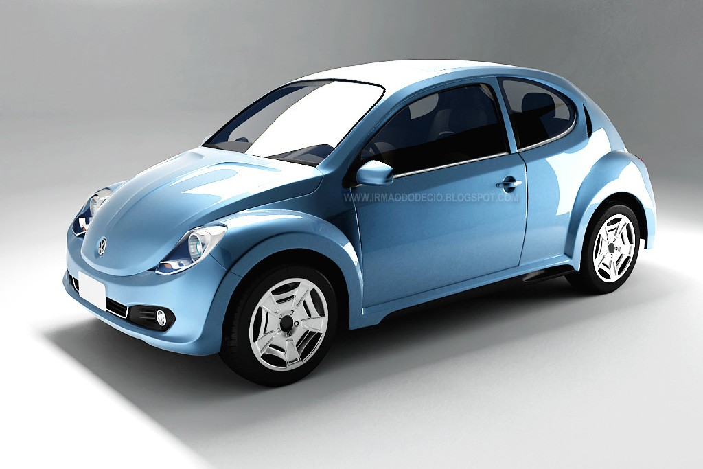 VW Käder, Typ 1, Retro, Comeback, Design Entwurf, New Beetle, New Beetle 2, Volkswagen