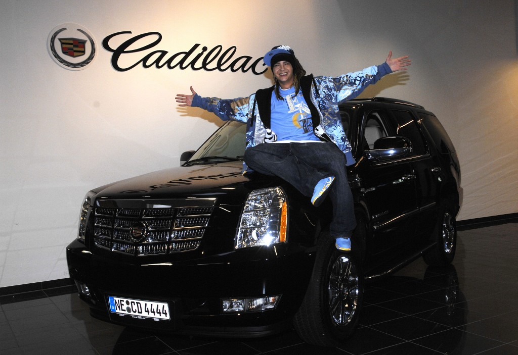 Cadillac, Celebrity, Tom Kaulitz, Bill Kualitz, Tokio Hotel, stars on cars