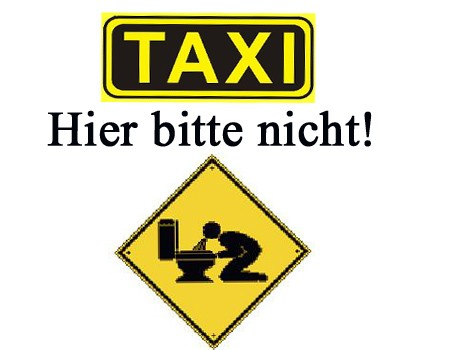 Gericht, Urteil, &uuml;bergeben, Erbrechen, Taxi, Fahrgast, Reinigung, Kosten, Rechnung, alkoholisiert, besoffen, &uuml;bel