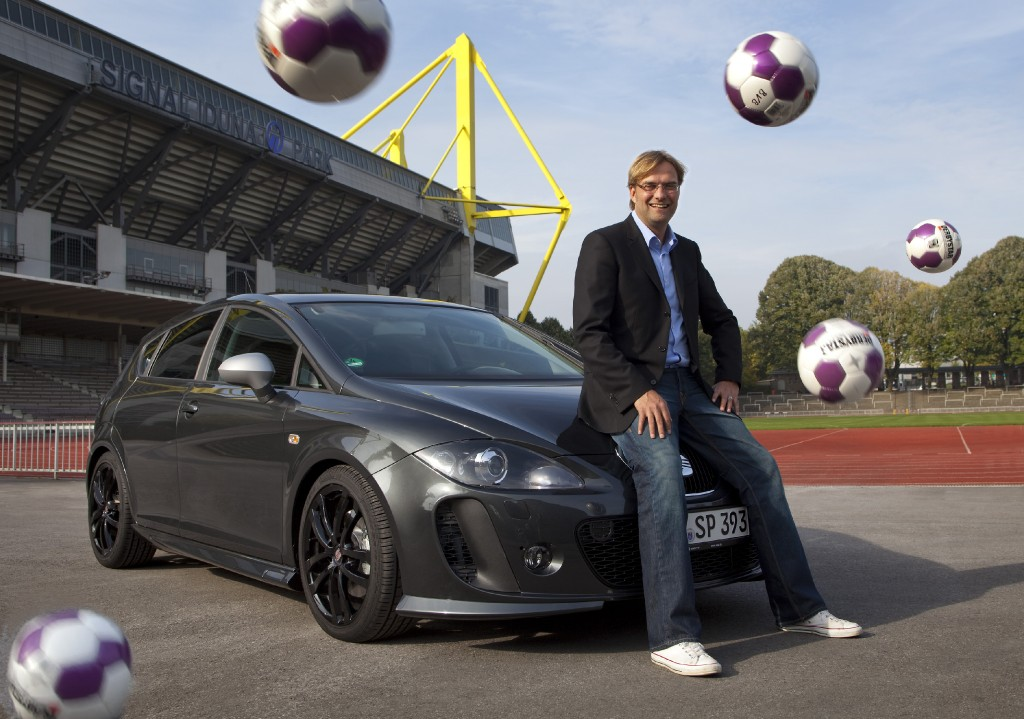 Seat, FR, Leon, Sponsoring, Celebrity, J&uuml;rgen Klopp, gesponsort, BVB, Borussia, Dortmund, Bundesliga 