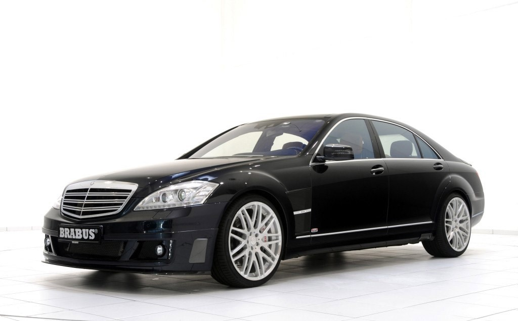 Mercedes-Benz, V12, Brabus, S-Klasse, S600, S 600, Tuner, Tuning, schnellste Limousine der Welt, schnellster Wagen der Welt, schnellstes Auto der Welt, PS, Rad, Felge, Aplple, Biturbo