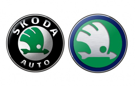 Skoda, Logo, Design, Premiere, weltpremiere, Styling, Genf, Auto Salon, Show Car, CI, Corporate Design, neues Logo, neues Design