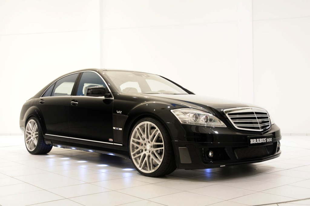 BRABUS baut das schnellste B&uuml;ro der Welt: 800 PS und 350 km/h