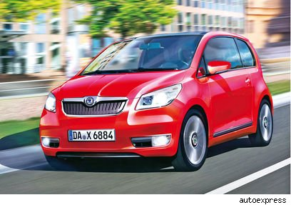 Er kommt 2012: Skoda City zum Kampfpreis von 8000 Euro! 
